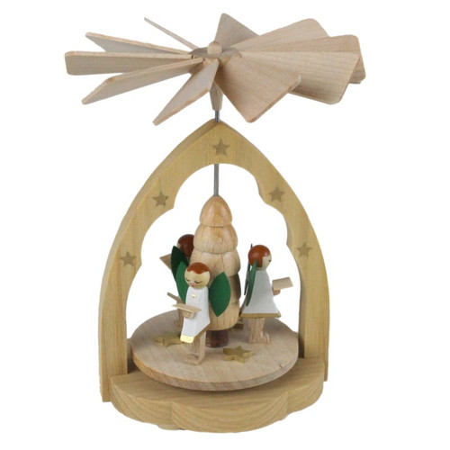 Mini German Pyramid Angel Carousel PYR017X24