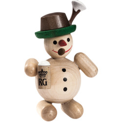Mini Bavarian Natural Snowman German Smoker SMR263X69