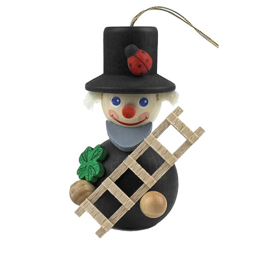 Mini Lucky Chimney Sweep German Ornament ORR135X66