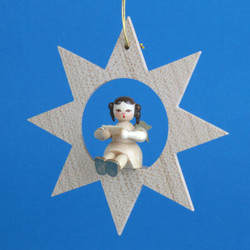 Star Angel Song Book Christmas German Ornament ORR013X34S