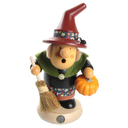 Halloween Pumpkin Witch German Smoker SMM164X47
