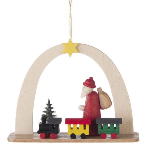 Arch Santa Train German Ornament ORD199X443X10