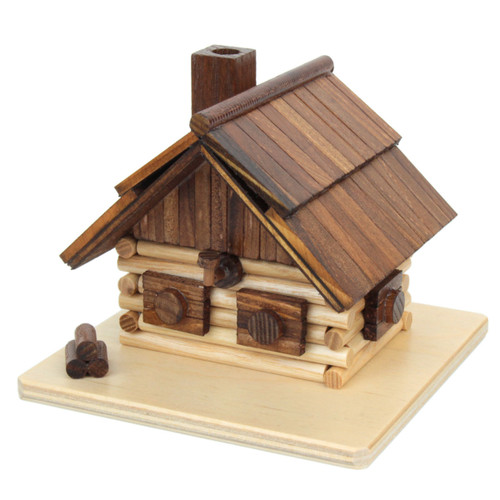 Log Cabin German Smoker SMD146X1659