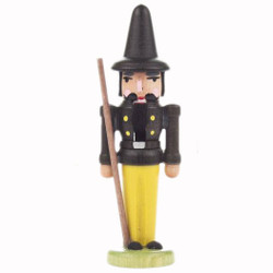 Mini Nutcracker Caretaker Figurine Black