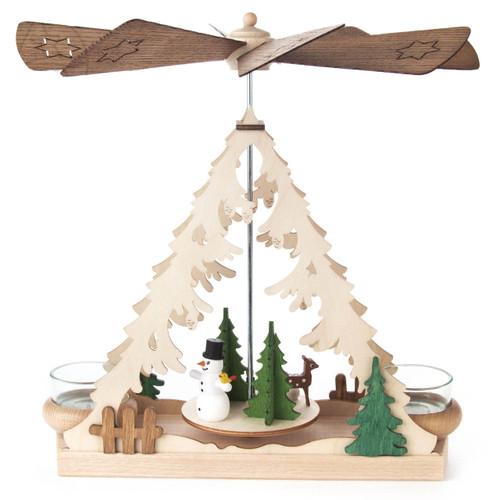 Snowman Christmas Tree German Pyramid PYD085X833