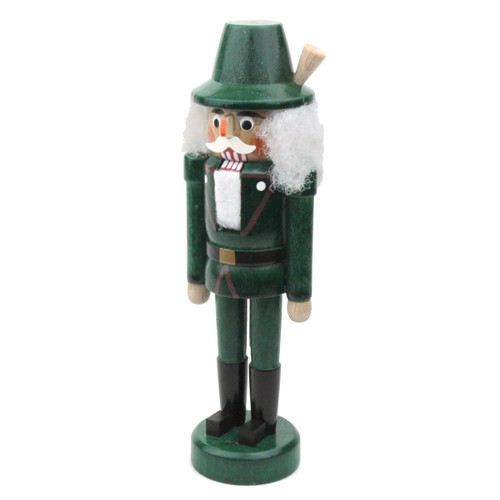 Miniature Green German Nutcracker NCD071X010