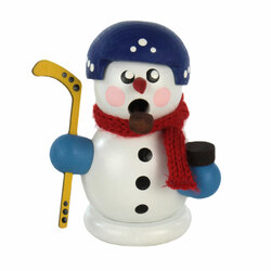 Mini Snowman Hockey German Smoker SMD136X177