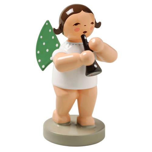 Wendt Kuhn Brunette Angel Clarinet Figurine FGW650X41-DK