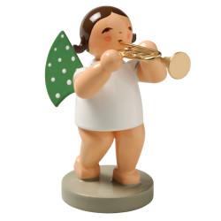 Brunette Angel Trumpet Figurine Wendt Kuhn FGW650X36-DK