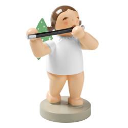 Wendt Kuhn Brunette Angel Traverse Flute Figurine FGW650X18