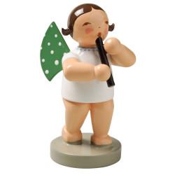 Wendt Kuhn Brunette Angel Recorder Figurine FGW650X42-DK