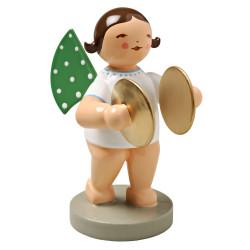 Wendt Kuhn Brunette Angel Cymbals Figurine FGW650X11