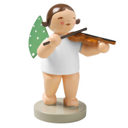 WENDT & KÜHN Brunette Angel Violin Figurine