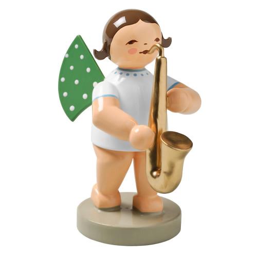 Angel Saxophone Figurine Wendt Kuhn