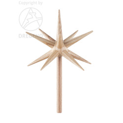 Advent Candleholder Natural Star