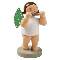 Brunette Angel Harmonica Figurine Wendt Kuhn FGW650X26-DK
