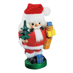 German Nutcracker Santa with Tree NCR126X40