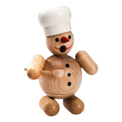 Mini Cook Snowman Natural German Smoker SMR263X67