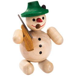Mini Hunter Snowman Natural German Smoker SMR263X67