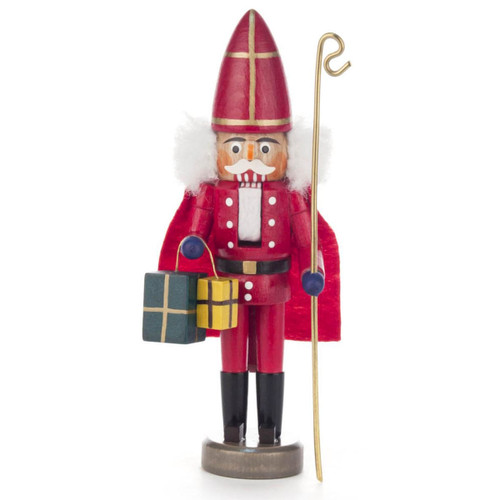 Mini St Nicholas Priest German Nutcracker NCD071X106