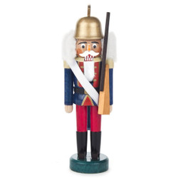 Mini Red Blue Guard German Nutcracker NCD071X184