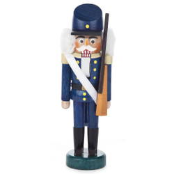 Mini Blue Infantry Officer German Nutcracker NCD071X185