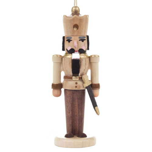 Nutcracker German King Ornament Natural ORD074X026NF1