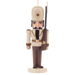 Nutcracker German Royal Guard Ornament Natural ORD074X026NF3