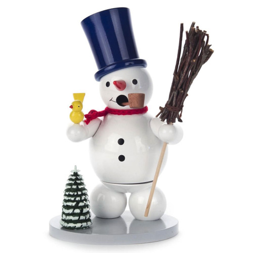 Snowman Bird German Smoker SMD146X928X2