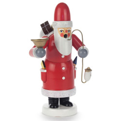 Santa Candle Holder German Incense Smoker SMD146X004