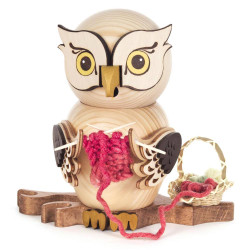 Knitting Crocheting Whimsical Owl German Smoker SMD146x1670x12