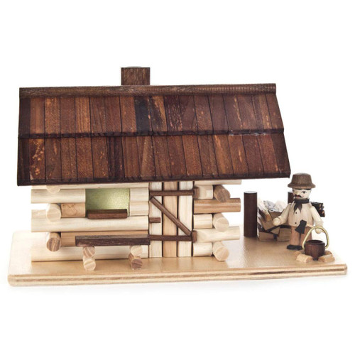 Woodman Forest Log Cabin German Smoker SMD146X1276