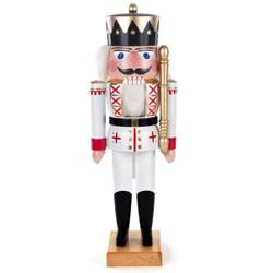 White Formal King German Nutcracker NCD022X020X1XW