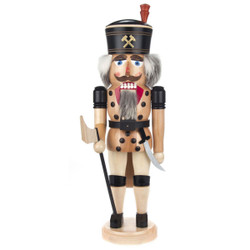 Natural German Miner Nutcracker NCD023X010