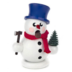 Mini Snowman Christmas Tree German Smoker SMD136X169