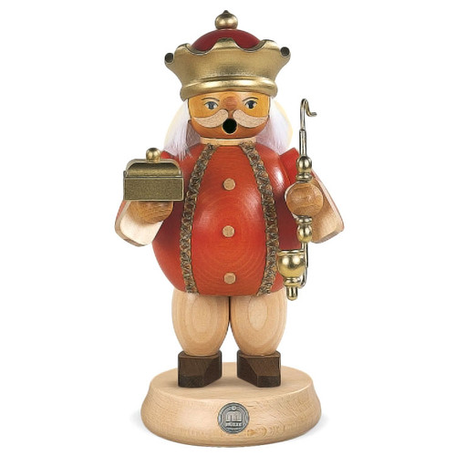 "Melchior Wiseman Christmas 7"" Tall German Smoker SMM161X82"