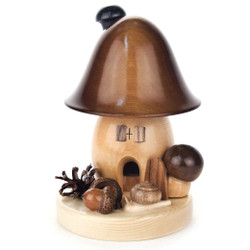 Brown Bell Shape Mushroom German Smoker SMD146X322BG