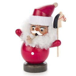 Mini Jolly Santa Horse German Smoker SMD136X186