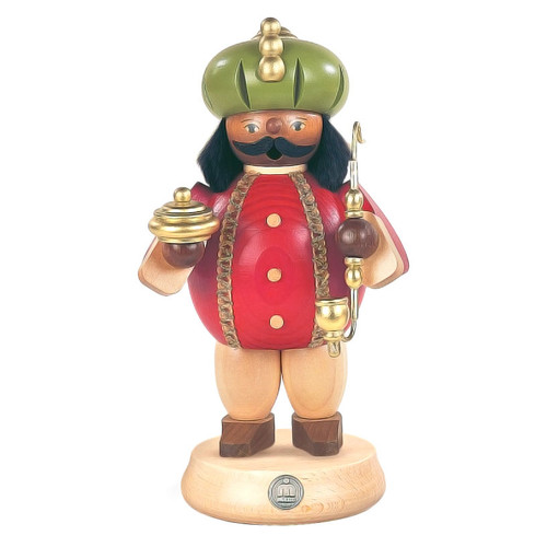 "Balthasar Wiseman Christmas 7"" Tall German Smoker SMM161X83"