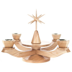 Natural Advent Candleholder CHD201X106N
