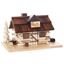 Mountain Cafe Log Cabin German Smoker SMD146X1415
