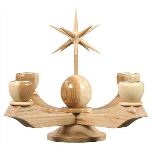 Natural Advent Candleholder CHD201X105N