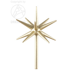 Gold Advent Candleholder Replacement Star RPSTAR105R