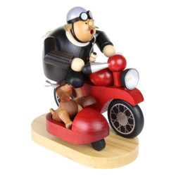 Motorcycle SideCar Dog Fun German Smoker SMK214X76