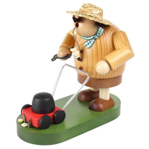 Landscaper Gardener Lawn Mower German Smoker SMK215X82