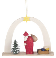 Arch Santa Sled German Ornament ORD199X443X7