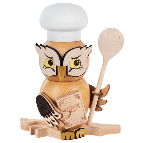 Cook Baker Whimsical Owl German Smoker SMD146X1670X11