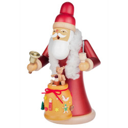 Santa Bell Sack Toys German Smoker Gifts SMD146X1339