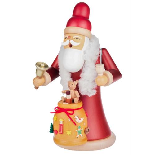 Santa Bell Sack Toys German Smoker Gifts SMD146X1339