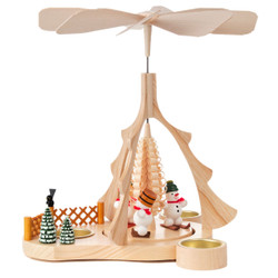 Holiday Ski Snowmen Pyramid PYD085X653